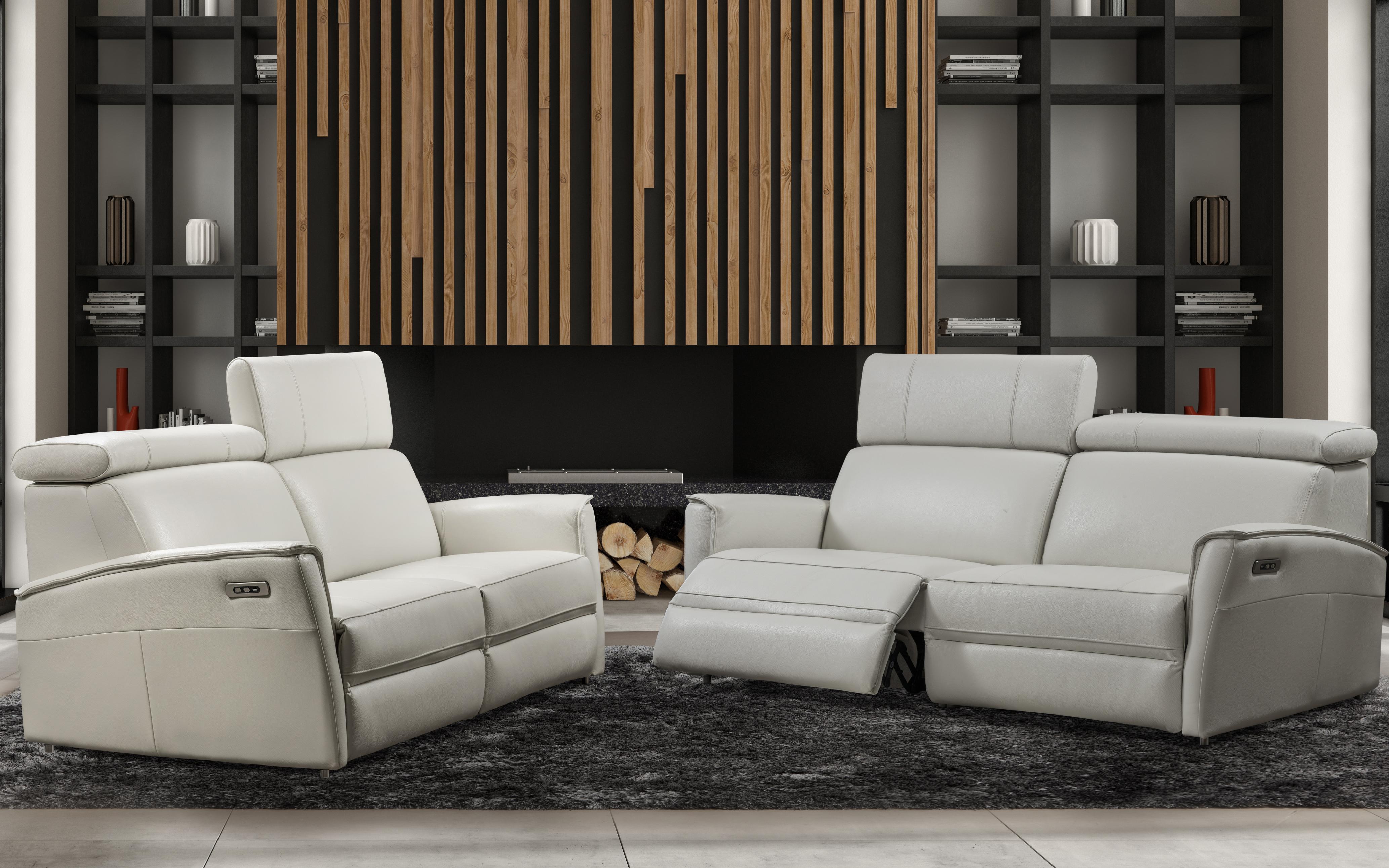 fine italian leather furniture. via furniture genuine italian leather and upholstered furniture fine r